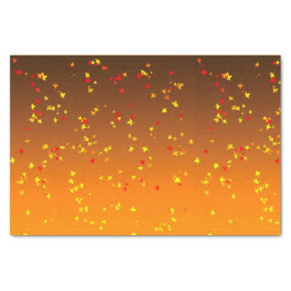 Falling leaves Tissue Paper