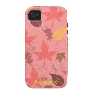 Falling Leaves Tough iPhone 4 Covers