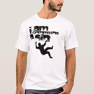 falling_man, I, AM, committing, A, Sin T-Shirt