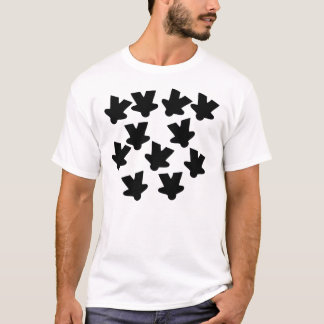 Falling Meeples - basic T-Shirt