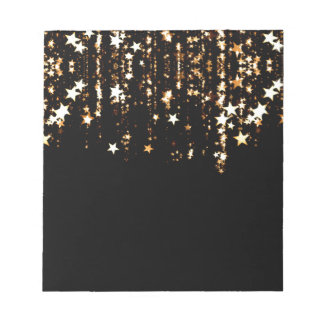 falling stars notepad