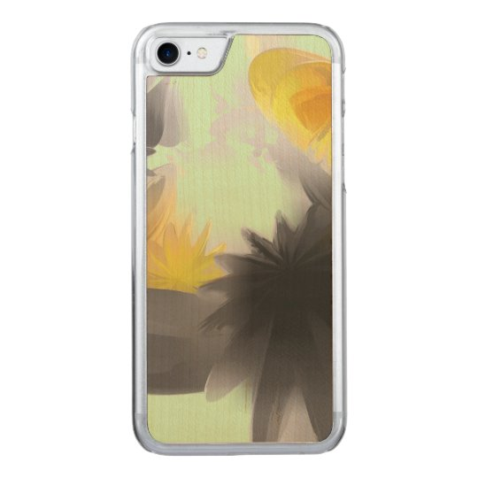 Falling Stars Pastel Abstract Carved iPhone 7 Case