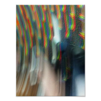Falling Through Rainbows Poster