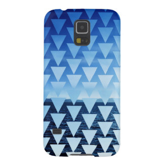 Falling Triangles Galaxy S5 Cover