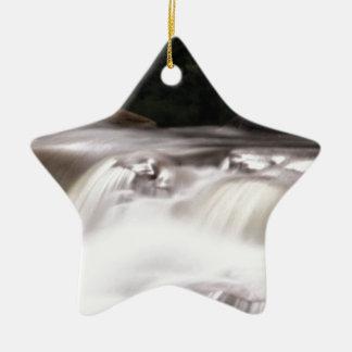falling water flow ceramic ornament