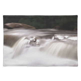 falling water flow placemat