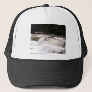 falling water flow trucker hat