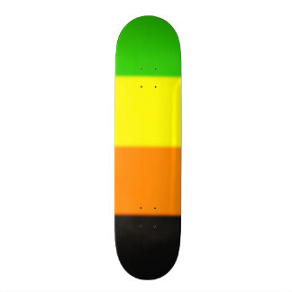 Fallln Aromantic Pride Flag Custom Skate Board