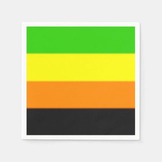 Fallln Aromantic Pride Flag Paper Napkins