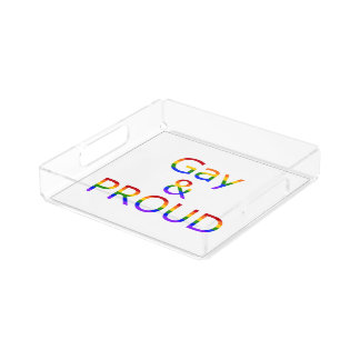 Fallln Gay and Proud Serving Tray