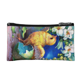 Falln A Happy Easter Chick Cosmetic Bag