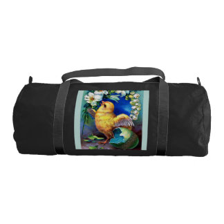 Falln A Happy Easter Chick Gym Bag