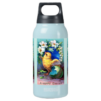 Falln A Happy Easter Chick Insulated Water Bottle