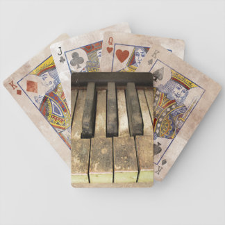 Falln A Melody Left Abadoned Bicycle Playing Cards