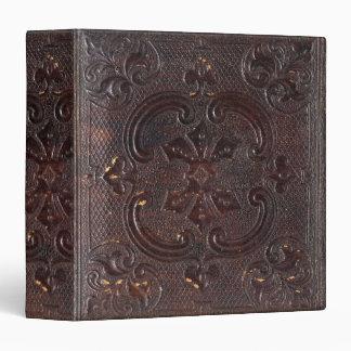 Falln Ancient Leather Book Vinyl Binder