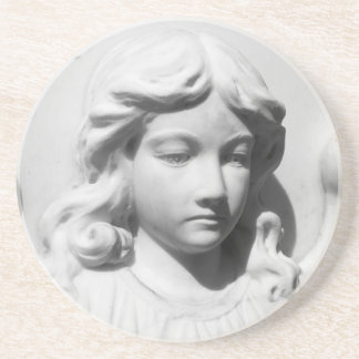 Falln Angel in Mourning Drink Coaster