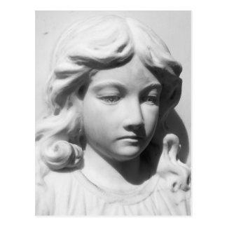 Falln Angel in Mourning Postcard