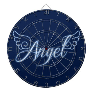 Falln Angel With Wings Dartboard