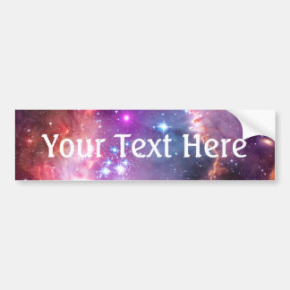 Falln Angelic Galaxy Bumper Sticker