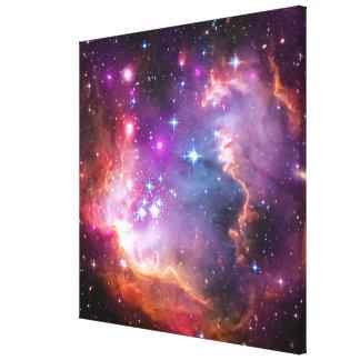 Falln Angelic Galaxy Canvas Print
