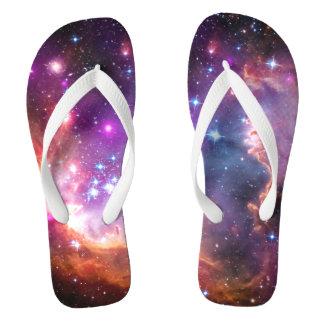 Falln Angelic Galaxy Flip Flops