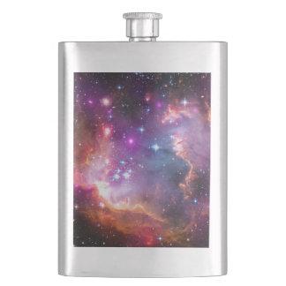 Falln Angelic Galaxy Hip Flask