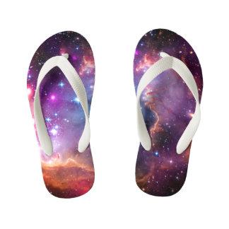 Falln Angelic Galaxy Kid's Flip Flops