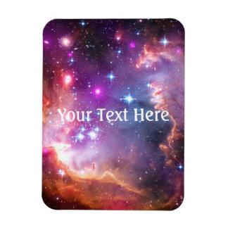 Falln Angelic Galaxy Rectangular Photo Magnet
