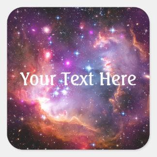 Falln Angelic Galaxy Square Sticker