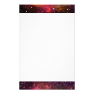 Falln Angelic Galaxy Stationery Paper