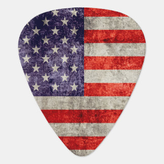 Falln Antique American Flag Guitar Pick