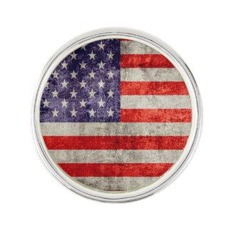 Falln Antique American Flag Lapel Pin