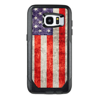 Falln Antique American Flag OtterBox Samsung Galaxy S7 Edge Case