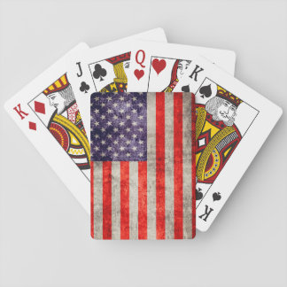 Falln Antique American Flag Playing Cards
