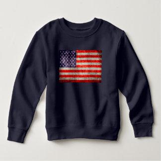 Falln Antique American Flag Sweatshirt