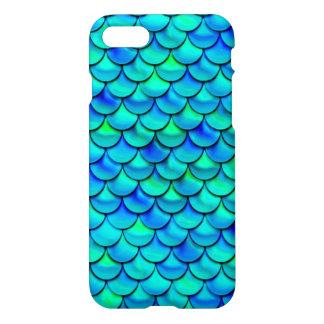 Falln Aqua Blue Scales iPhone 8/7 Case