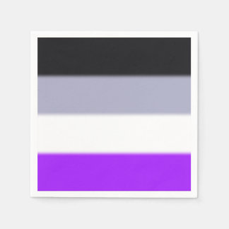 Falln Asexual Pride Flag Disposable Napkins