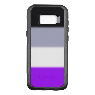 Falln Asexual Pride Flag OtterBox Commuter Samsung Galaxy S8+ Case