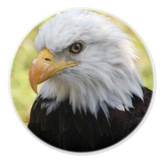 Falln Bald Eagle Liberty Ceramic Knob