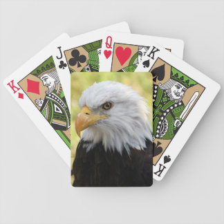 Falln Bald Eagle Liberty Poker Deck