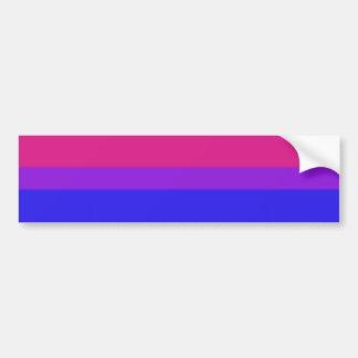 Falln Bisexual Pride Flag Bumper Sticker