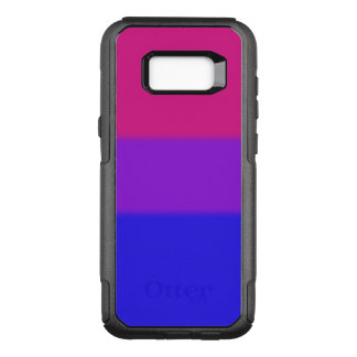 Falln Bisexual Pride Flag OtterBox Commuter Samsung Galaxy S8+ Case