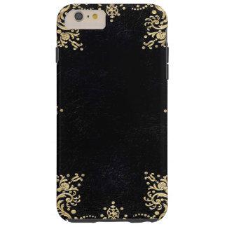 Falln Black And Gold Filigree Tough iPhone 6 Plus Case