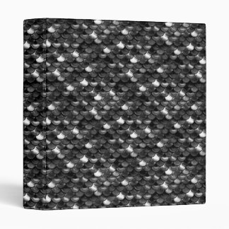 Falln Black and White Scales 3 Ring Binders