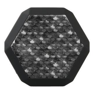 Falln Black and White Scales Black Bluetooth Speaker