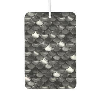 Falln Black and White Scales Car Air Freshener