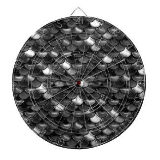 Falln Black and White Scales Dartboard