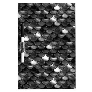 Falln Black and White Scales Dry Erase Boards