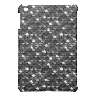 Falln Black and White Scales iPad Mini Cover