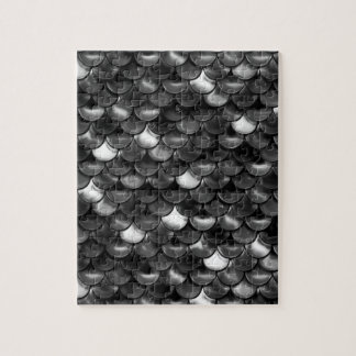 Falln Black and White Scales Jigsaw Puzzle